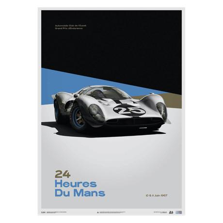 Ferrari 412P // White // 24 hours of Le Mans // 1967