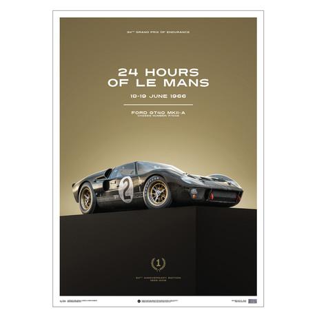 Ford GT40 // 24h Le Mans // 1966 (Black)
