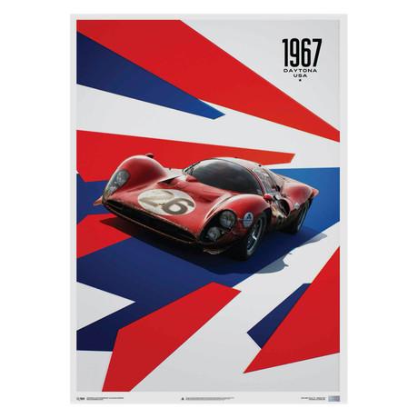 Ferrari 412P // Red // 24 Hours of Daytona // 1967