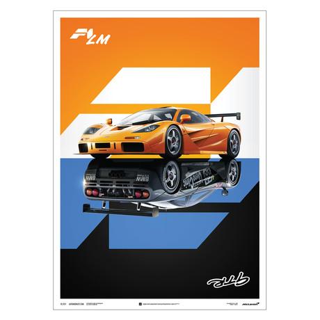McLaren F1 LM / GTR // Poster