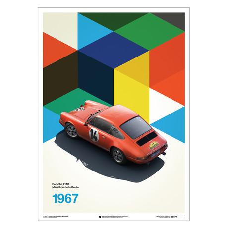 Porsche 911R // Red // Marathon de la Route // 1967