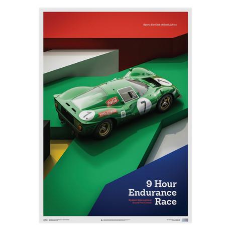 Ferrari 412P // Green // Kyalami 9 Hour // 1967