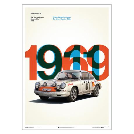 Porsche 911R // White // Tour de France // 1969