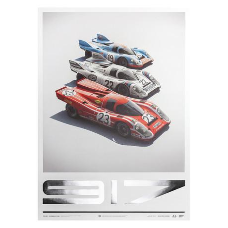 Porsche 917 // Salzburg & Martini & Gulf // 24h Le Mans // Collector's Edition