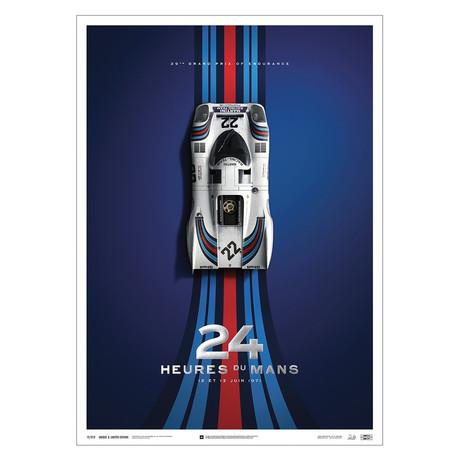 Porsche 917 // Martini // 24h Le Mans // 1971 // U&L