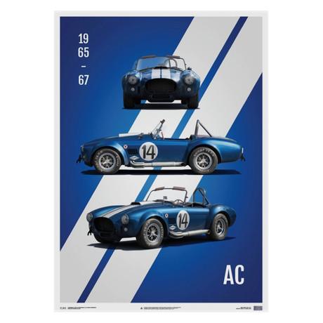 Shelby Ford AC Cobra Mk III // Blue // 1965