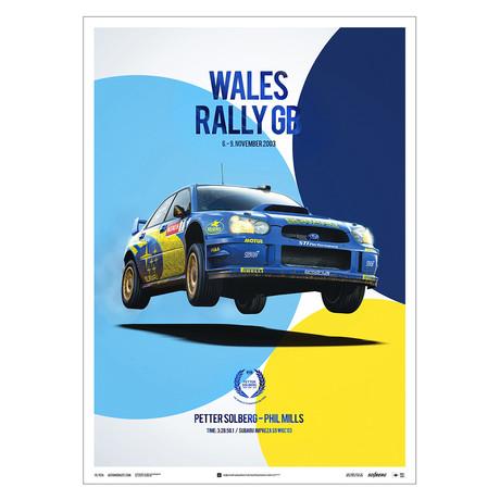 Subaru Impreza WRC 2003 // Petter Solberg // Wales Rally GB // U&L