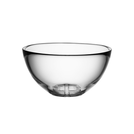 Bruk Serving Bowl // Medium (Clear)