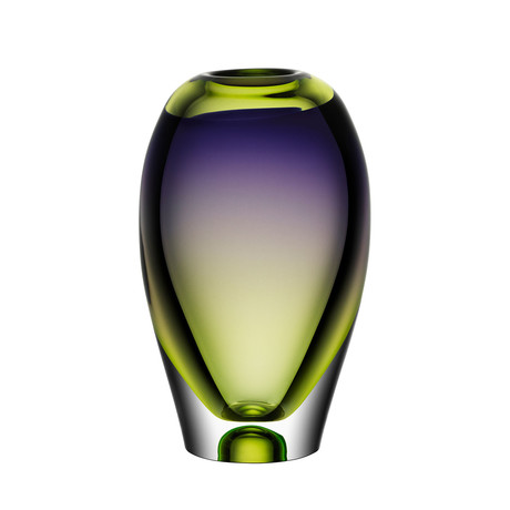 Vision Vase // Purple + Green