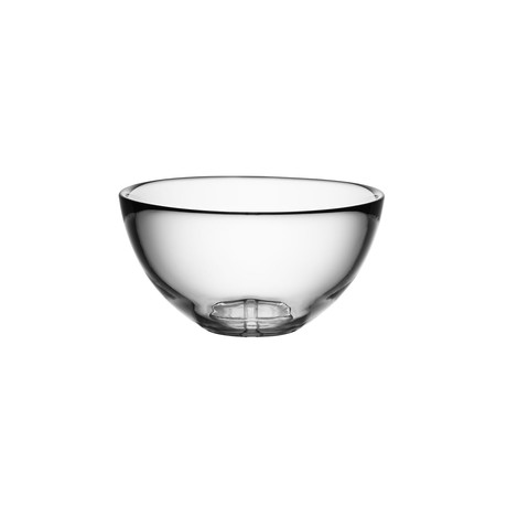 Bruk Serving Bowl // Small (Clear)