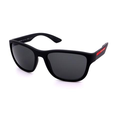 Prada // Women's PR57US-1ABOA7 Catwalk Sunglasses // Black + Gray Gradient