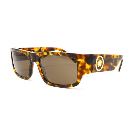 Unisex VE4385 Sunglasses // Havana + Brown