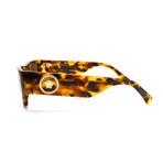Versace // Unisex VE4385 Sunglasses // Havana + Brown