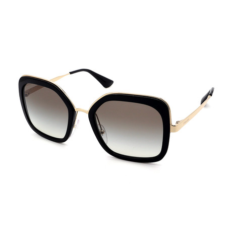 Prada Sport // Men's PS01US-DG05S0 Sunglasses // Black + Gray