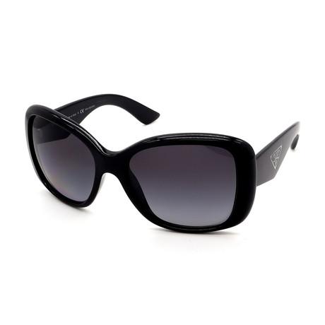 Prada // Women's PR32PS-1AB5W1 Polarized Sunglasses // Black Gradient