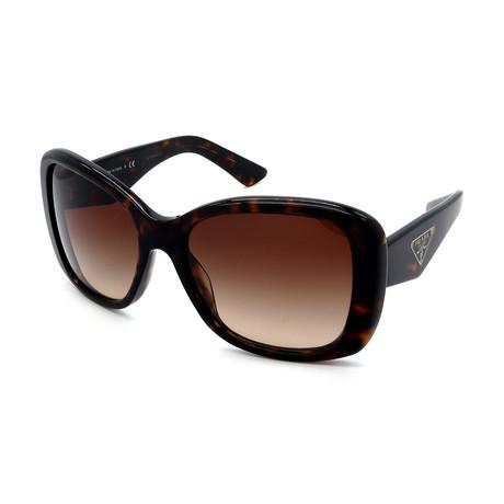 Prada Sport // Men's PS53PS-1BC5W1 Aviator Polarized Sunglasses // Silver + Black Gradient