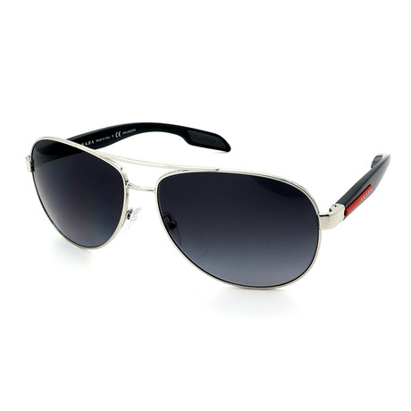 Prada // Women's PR32PS-2AU6S1 Sunglasses // Brown + Brown Gradient