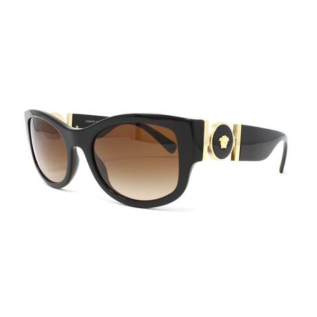 Unisex VE4372 Sunglasses // Black + Brown