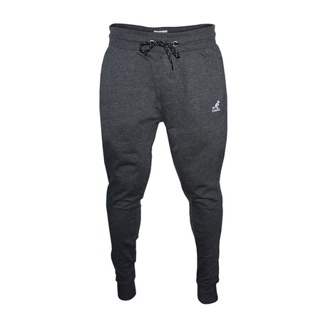 Two-Tone Drawcord Joggers // Charcoal Mix (S)