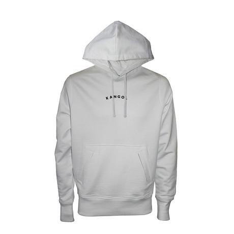 Icon Hoodie // White (S)