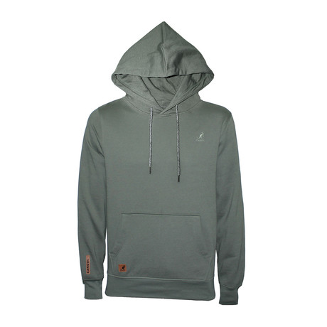 Fleece Hoodie + Two-Tone Drawcord // Joshua Tree (S)