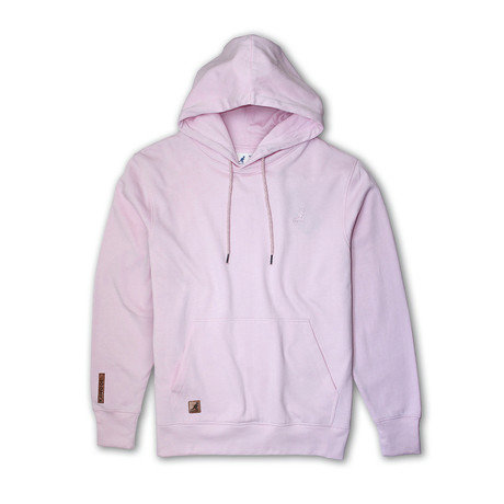 Fleece Hoodie + Two-Tone Drawcord // Ballerina (S)