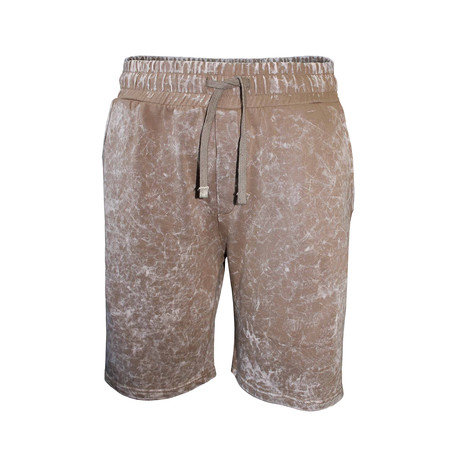 Denim Dye Short // Taupe Denim (S)