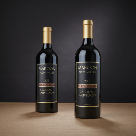 Maroon Black Label Coombsville Cabernet Sauvignon // Set of 2