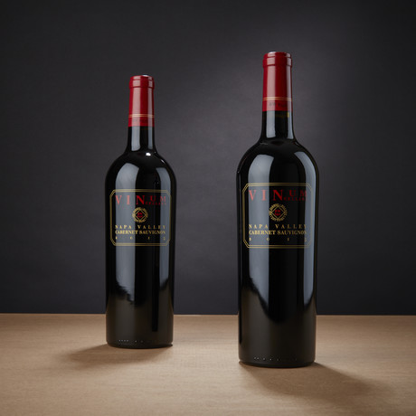 91 Point Vinum Cellars Napa Cabernet Sauvignon // Set of 2