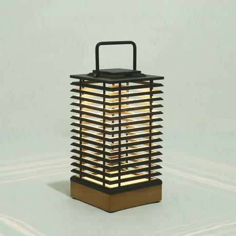 """Tekura Lantern // Teak // HPL // V4 (18"""")"""
