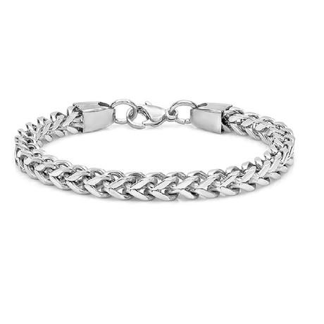 Wheat Bracelet // Metallic