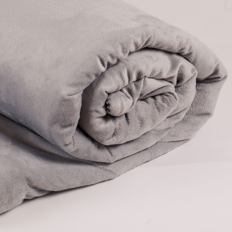 Copper Infused Self-Cleaning Weighted Blanket // 20 lbs (Single)