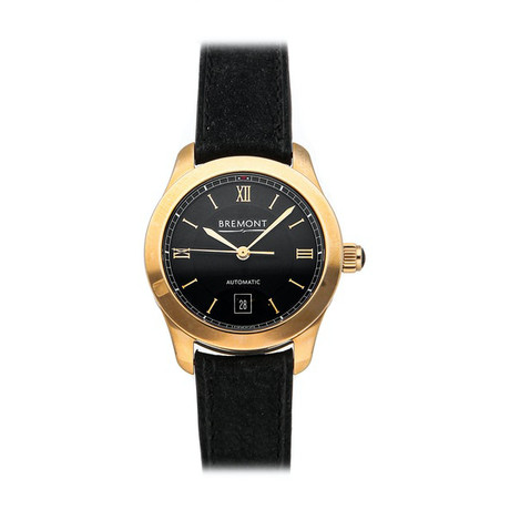 Bremont Ladies Solo Automatic // SOLO32/RG-LC/BK // Pre-Owned