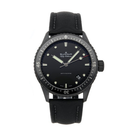 Blancpain Fifty Fathoms Bathyscaphe Automatic // 5000-0130-B52A // Pre-Owned
