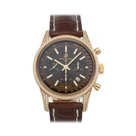 Breitling Transocean Chronograph Automatic // RB0152AF/Q596 // Pre-Owned