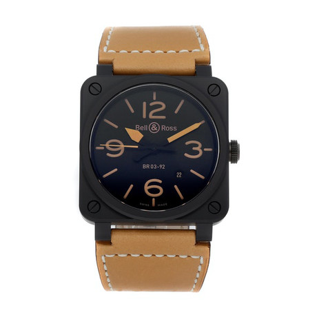 Bell & Ross Heritage Automatic // BR0392-HERITAGE-CER // Pre-Owned