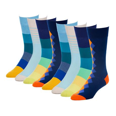Presidential HighNoon Crew Sock // Pack of 8