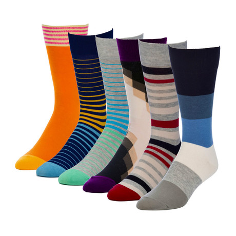 Champion Switch Crew Sock // Pack of 6