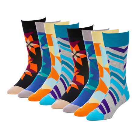 Invert Radical Crew Sock // Pack of 8