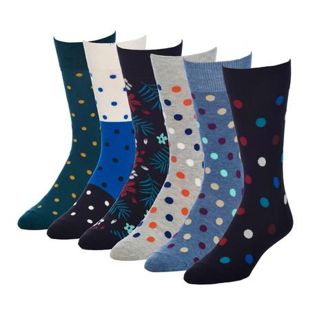Pane Bachelor Crew Sock // Pack of 6