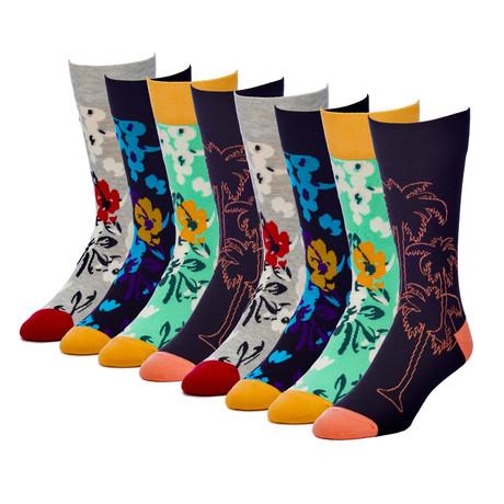 SoCal Cruise Crew Sock // Pack of 8