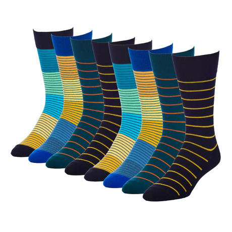 Acoustic Submerge Crew Sock // Pack of 8