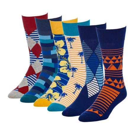 Tiprop Sydney Crew Sock // Pack of 6
