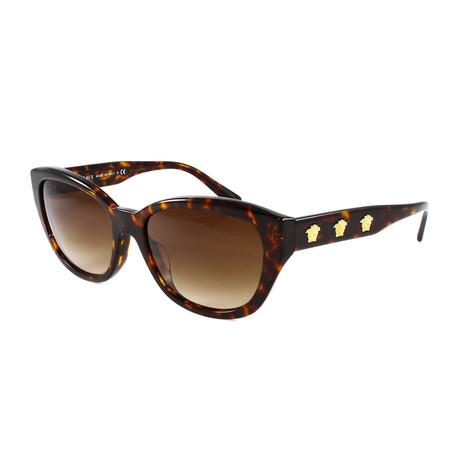 Women's VE4343A Sunglasses // Pale Gold + Black