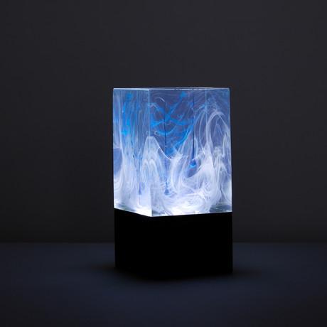 Resin Table Lamp // Ice (Bulb + Base)