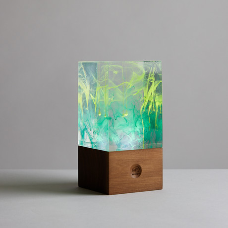 Resin Table Lamp // Aurora