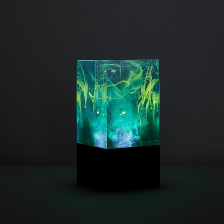 Resin Table Lamp // Aurora (Bulb + Base)