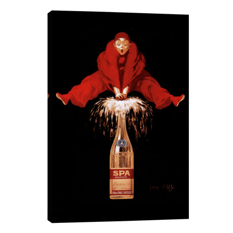Belgium Liquor Red Man // Vintage Apple Collection