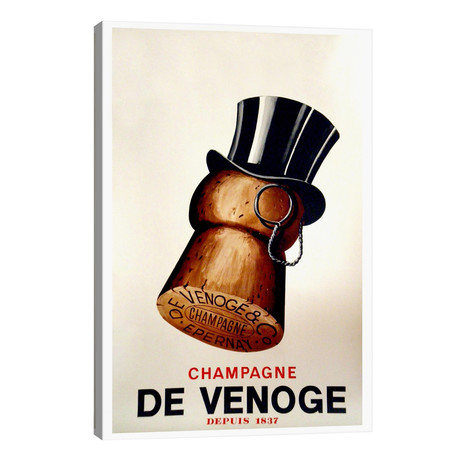 "Champagne Cork // Vintage Apple Collection (18""W x 26""H x 1.5""D)"