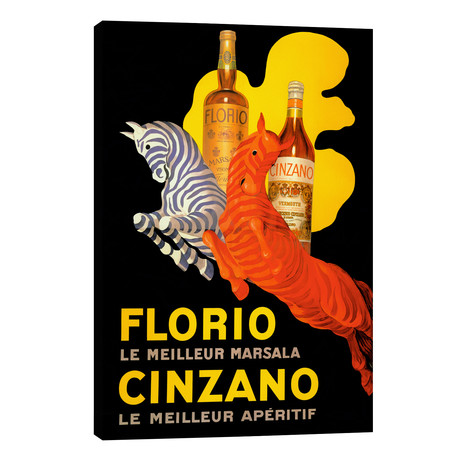 Cappiello Florio Cinzano // Vintage Apple Collection